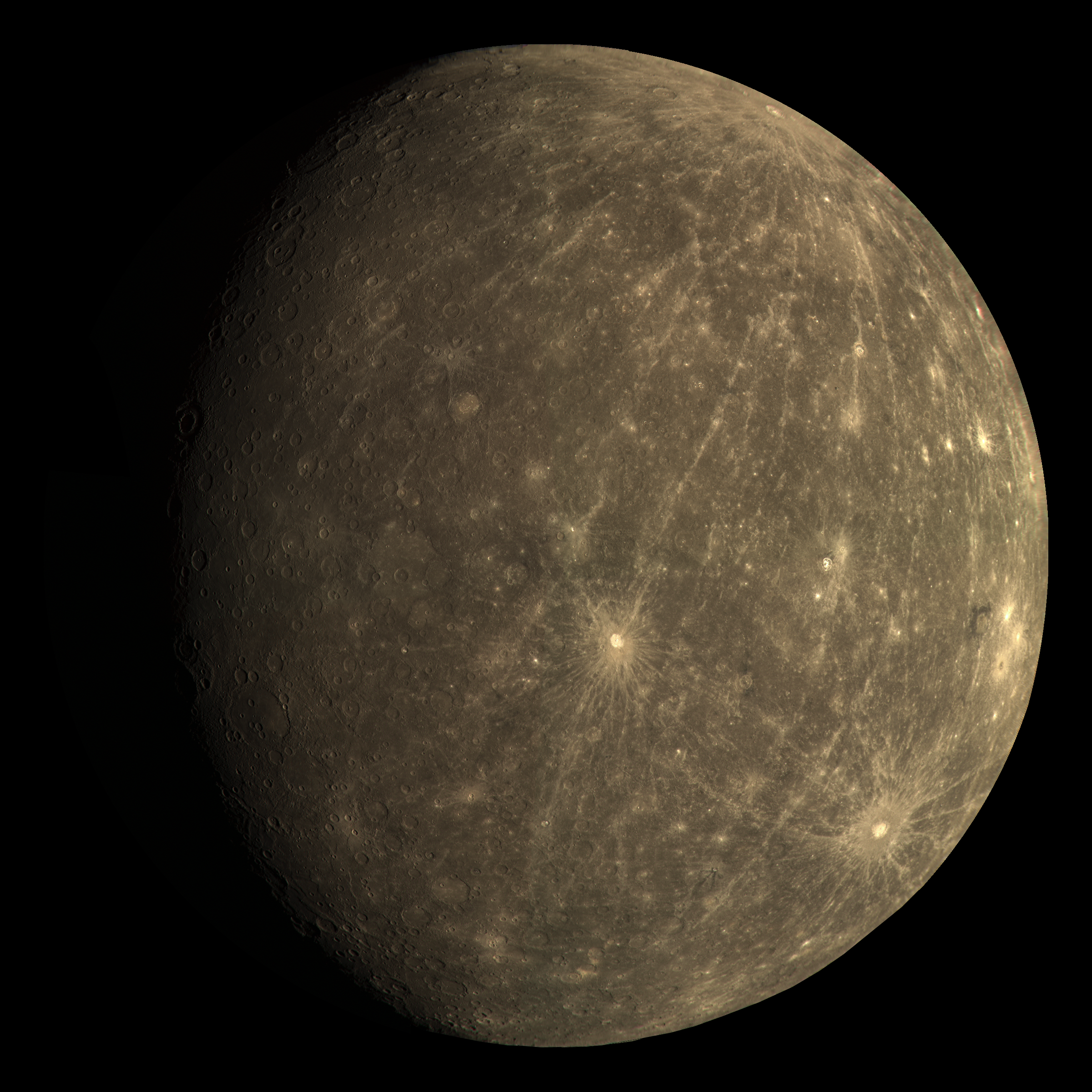 mercury planet size and color - photo #2